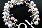 Barrel of Pearls Bracelet AS, Beginner to Beginner Plus