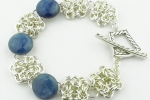 Byzantine Gemstone Bracelet AS (Beginner Plus)