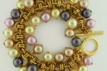 Barrel of Pearls Bracelet (Beginner Plus)