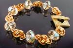 Love Knot Crystal Bracelet BR, Beginner Plus