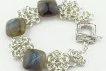 Byzantine Gemstone Bracelet SF (Beginner Plus)