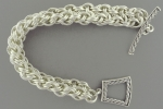Kinged Basketweave Bracelet SF,(Intermediate)