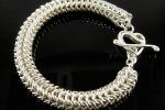 Roundmaille Bangle, Intermediate