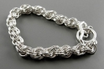 Double Spiral Bracelet SS, Beginner