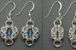 Byzantine Two-By-Two Earrings SS, Beginner
