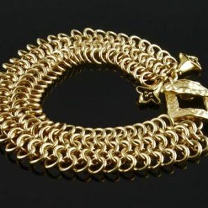 Flat Mesh Bracelet BR (Beginner Plus)
