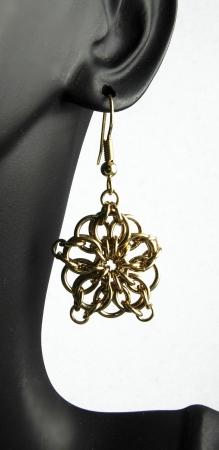 Celtic Star Earrings BR (Beginner, All Levels)