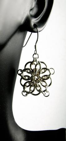 Celtic Star Earrings SF (Beginner, All Levels)