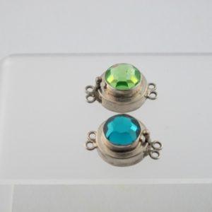 Box Clasp, SS, Swarovski Crystal