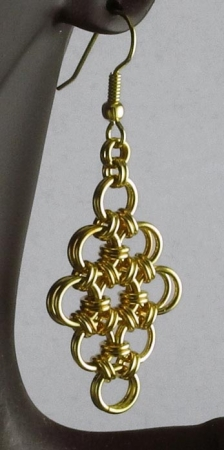 Japanese Diamond Earrings BR (Beginner)