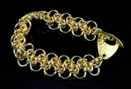 Byzantine Bias Bracelet BR, (Beginner Plus)