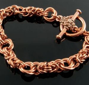 Byzantine Rose Bracelet CU (Beginner Plus)