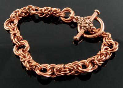 Byzantine Rose Bracelet CU (Beginner Plus)
