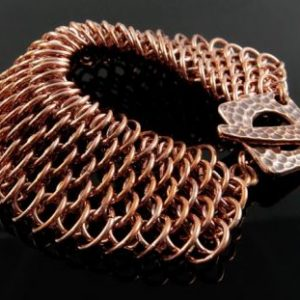 Dragonscale Cuff Bracelet CU (Advanced)