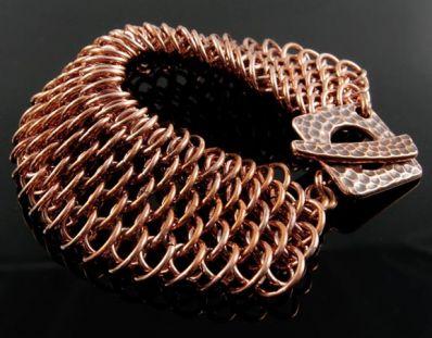 Dragonscale Cuff Bracelet CU (Advanced)