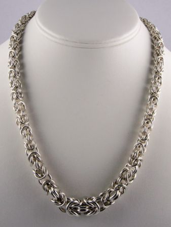 Graduated Byzantine Necklace AS (Beginner Plus)