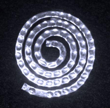 Pendant, SS, Spiral