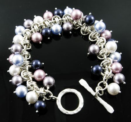 Barrel of Pearls Bracelet AS (Beginner to Beginner Plus)