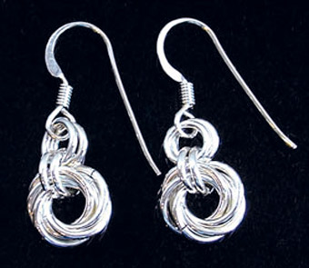 Mobius Earrings