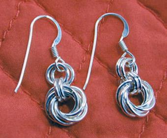 Mobius Earrings