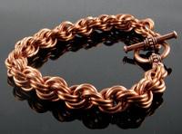 double spiral bracelet