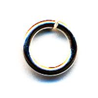 Sterling Silver Jump Rings, 14 gauge, 8.0mm ID, Partial