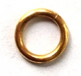 Jeweller's Bronze Jump Rings, 14 gauge, 8.0mm ID, Partial