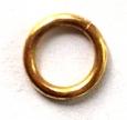 Jeweller's Bronze Jump Rings, 18 gauge, 4.0mm ID, Partial