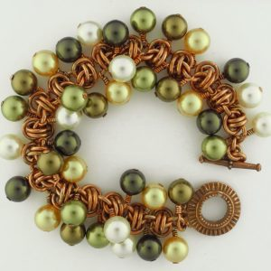 Barrel of Pearls Bracelet CU (Beginner to Beginner Plus)