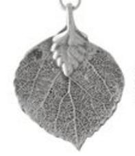 Charm, Leaf, Small, Aspen