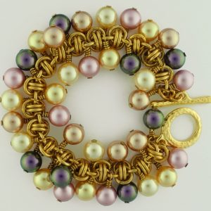 Barrel of Pearls Bracelet BR (Beginner to Beginner Plus)