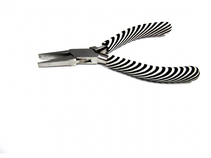 Pliers,Fflat nose, Zebra