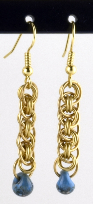 Viper Basket Earring (Beginner)