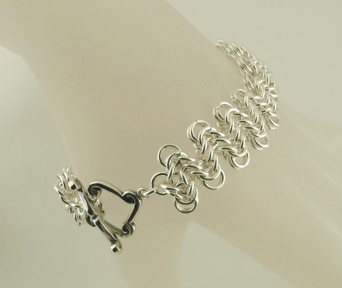 Staggered Boxchain Bracelet AS (Beginner Plus)