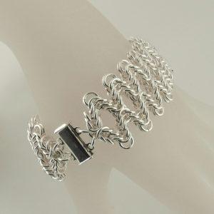 Staggered Byzantine Bracelet AS (Beginner Plus)