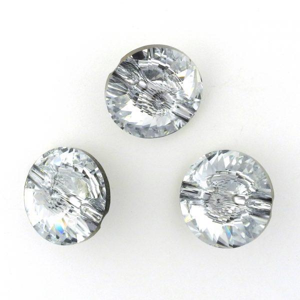 617f4aeb6c023 Swarovski Rivoli Button 3105, Crystal, 16mm